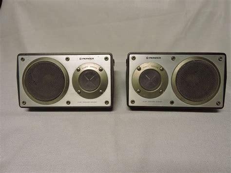 bookshelves speakers pioneer ts x9 40w 4 ohms surface mount bookshelf speakers
