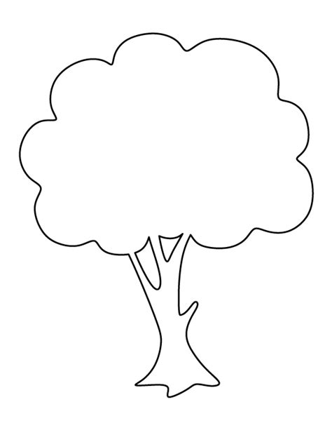 small tree pattern free printable stencil patterns tree breeds picture