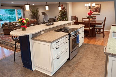 kitchen islands with stove kitchen island with stove top seating sink and oven ranges