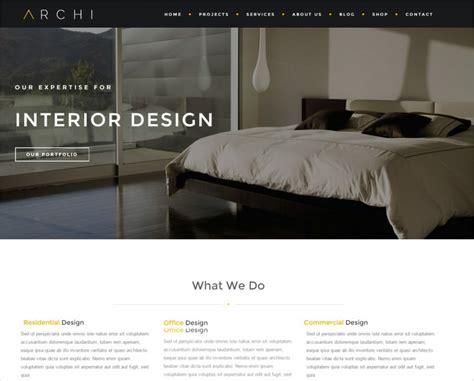 interior design website templates interior design website templates themes free