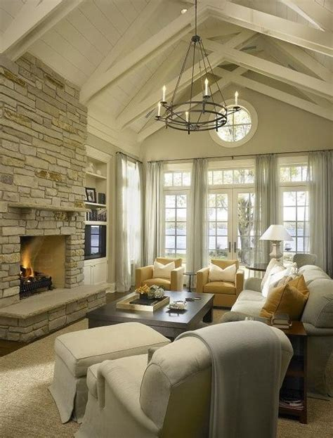what to do with room in house 16 ways to add decor to your vaulted ceilings