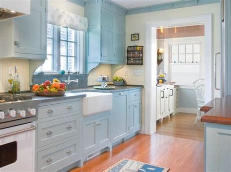 ideas for small country kitchens designs color blue small まだまだ続く単色シリーズ4 可愛らしさと冷静さを兼ね備えた水色の部屋 monochromatic water