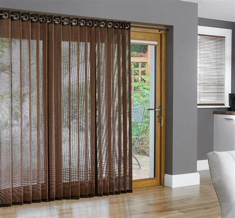 bamboo curtains for sliding glass doors bamboo grommet top panels for sliding glass doors and