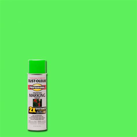 neon paint colors home depot rust oleum professional 15 oz 2x fluorescent green