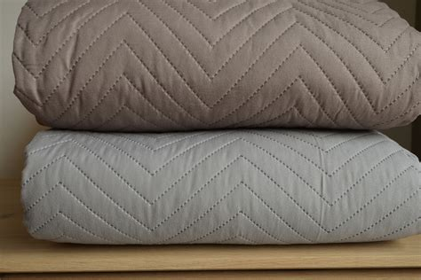 bed bedspreads chevron stitched and quilted bedspreads bed co