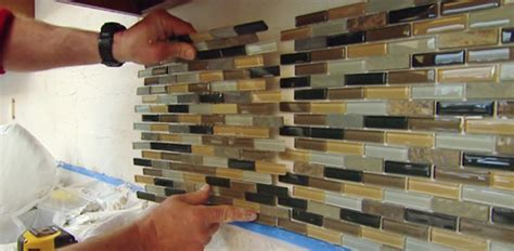 install backsplash in kitchen how to install a mosaic tile backsplash today s homeowner