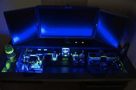 computer desk mod the pc mod that is sexier than a mac bit rebels