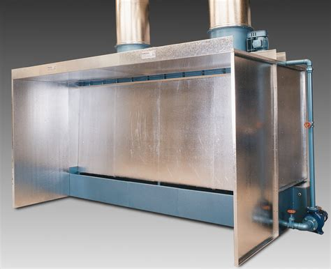 spray painting booths fercell cascade water wash spray booth iem uk