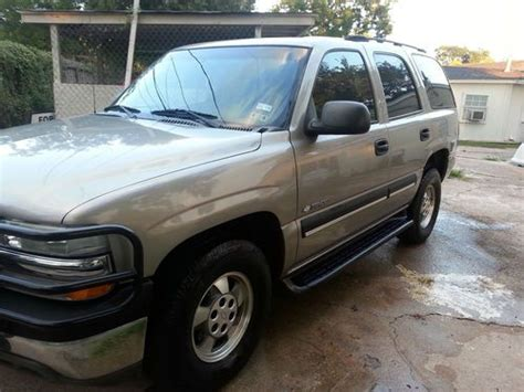 how to learn about cars 2003 chevrolet tahoe parental controls find used 2003 chevy tahoe in houston texas united states for us 5 300 00