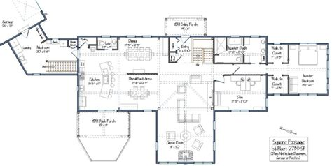 post and beam home plans floor plans post and beam single story floor plans