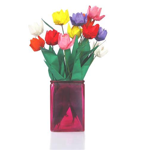 origami flowers tulip premium origami tulip bouquet 12 graceincrease custom