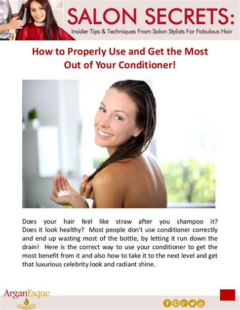 how to properly use salon secrets how to properly use and get the most out