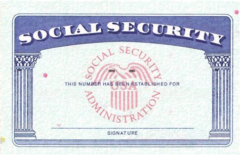 make your own social security card blank social security card template business