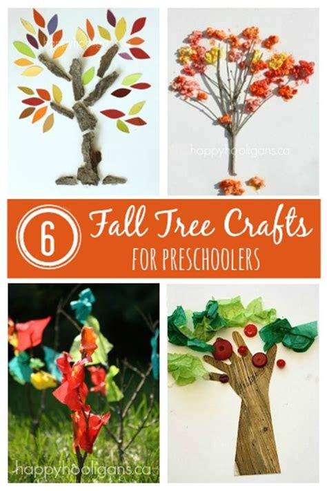 fall craft project fall crafts for to make happy hooligans