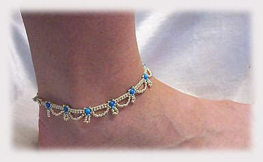 what do i need to start jewelry this anklet is made in 2 passes and can be made to