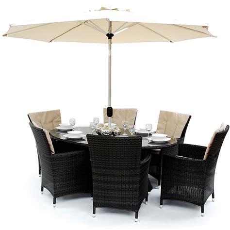 dining table sets melbourne es melbourne patio oval dining table set drinkstuff