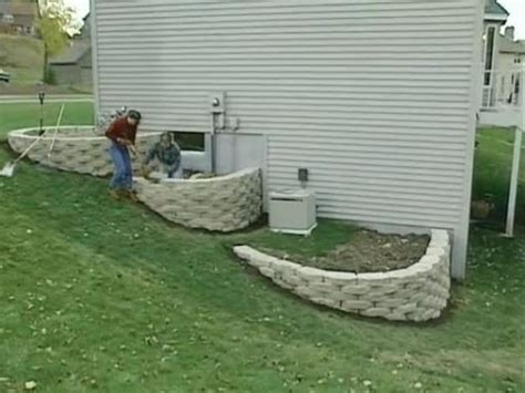 how to build a garden retaining wall how to build a 3 tier retaining walls