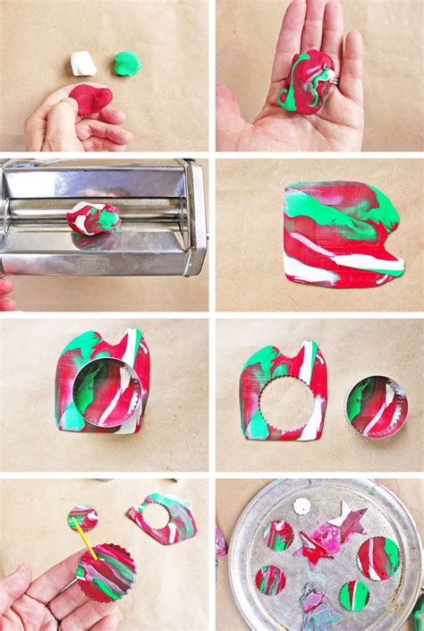 how to make clay ornaments ornaments with polymer clay babble