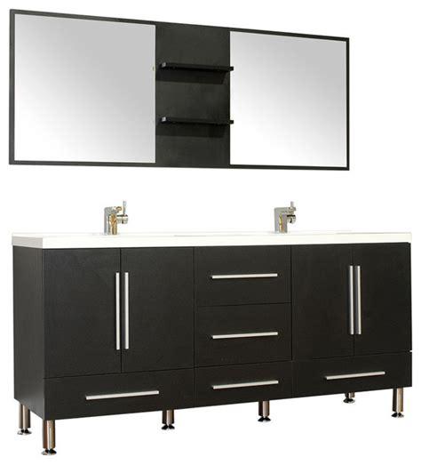 67 bathroom vanity 67 quot modern bathroom vanity black modern