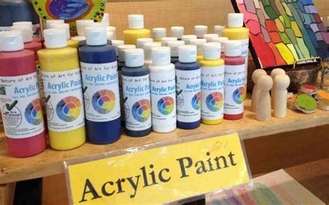 how to paint acrylic buy acrylic safe artist paints for earth friendly