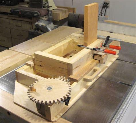 woodwork jigs advance box joint jig woodworking talk