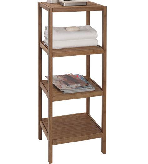 bathroom shelving unit bamboo shelving unit in bathroom shelves
