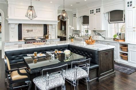 beautiful kitchen island beautiful kitchen islands with bench seating designing idea