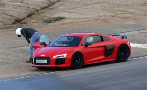Top Gear Audi R8 by Top Gear S Chris Got Carsick With Sabine Schmitz In