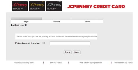 make a payment on my credit card jcpenney credit card login bill payment
