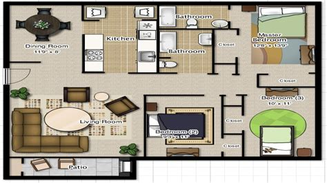 2 bedroom cottage floor plans 3 bedroom 2 bathroom house plans 3 bedroom 2 bathroom