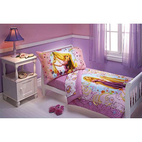 rapunzel bedding disney tangled rapunzel 4pc toddler bedding set