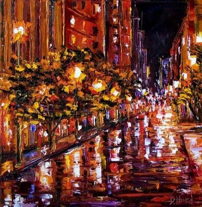 paint nite cities city original painting by debra hurd