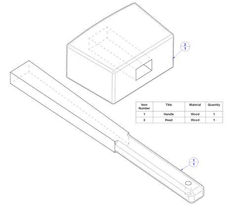 woodworking mallet plan wooden mallet plan