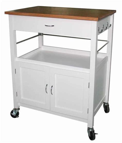 kitchen trolley island ehemco kitchen island cart butcher block bamboo top ebay