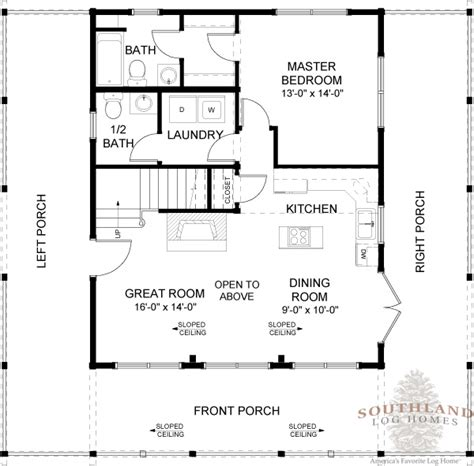 floor plans for log homes featured floorplan the carson southland log homes