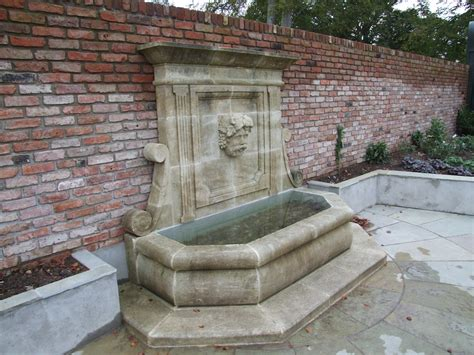 garden feature wall patio water features with garden wall feature pictures