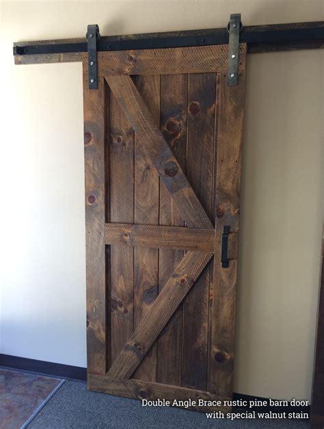 single barn door single barn doors hardware rustic modern handcrafted