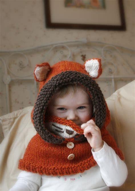 toddler knitting knitting pattern fox cowl rene baby toddler child
