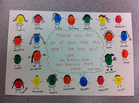 thank you crafts for 9 best images about thank u cards pre k on