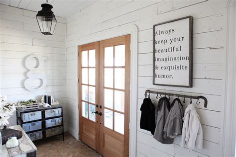 chip and joanna shiplap chip and joanna gaines house tour fixer farmhouse