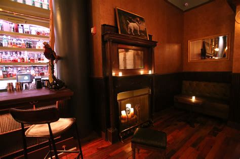 Home Bar Lighting fireplaces at new york bars ten toasty hearths to warm you