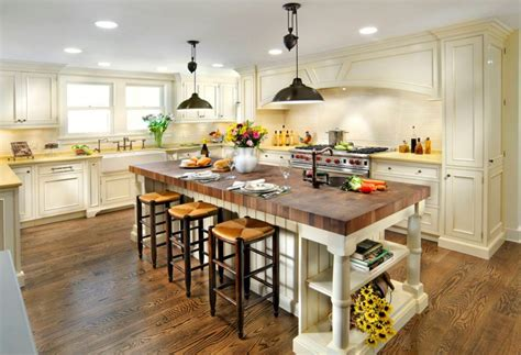 butcher block for kitchen island 20 exles of stylish butcher block countertops