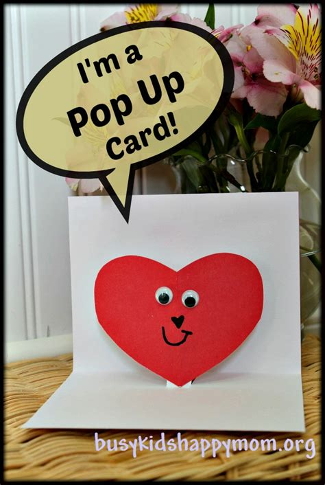 pop up cards for children to make handmade pop up cards
