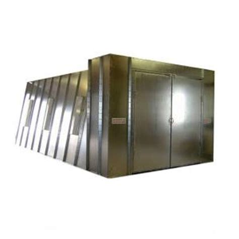 home depot paint booth col met spray booths 14 ft x 10 ft x 26 ft flow