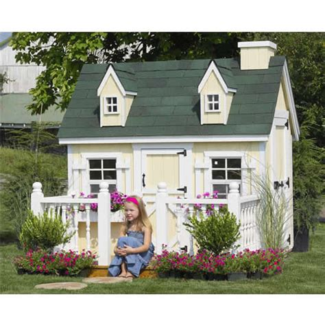 cozy cottage playhouse outdoor playhouse cozy cottage 4 x 6