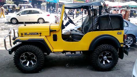 Jonga Car Wallpaper by Mahindra Jeep Modified Price Wallpaper 1280x720 16583