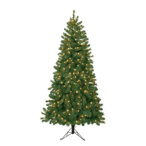 corner trees artificial 6 5 ft pre lit corner pine artificial tree with