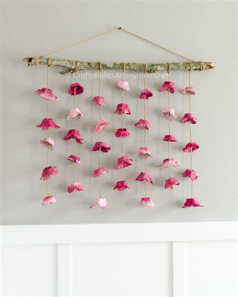 hanging craft projects craftaholics anonymous 174 boho flower wall hanging made