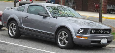 06 Ford Mustang by Bestand 06 07 Ford Mustang Pony Jpg