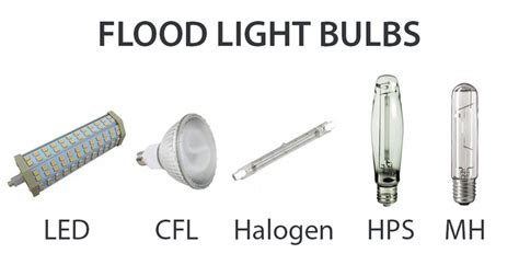 flood light led bulbs what types of light bulbs are used in outdoor flood lights